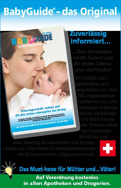 Babyguide Das Offizielle Schweizer Handbuch Fur Werdende Junge Eltern